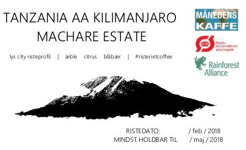 kilimanjaro label