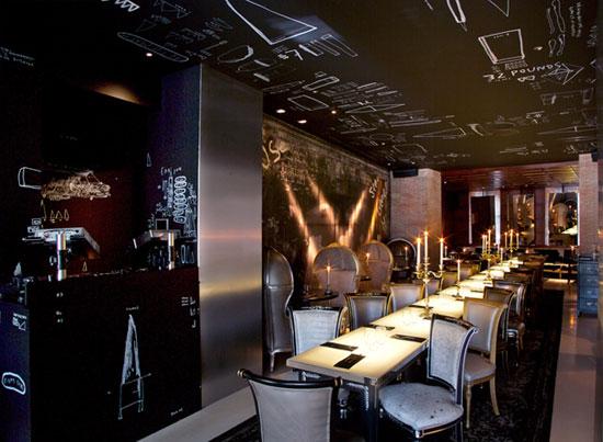 Philippe Starck Ramses Restaurant Madrid Spain