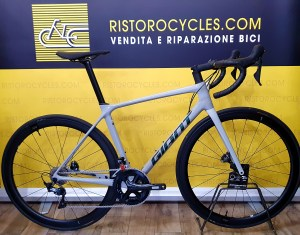 GIANT TCR ADVANCED 1 PRO DISC in pronta consegna. Ristorocycles giant store Pinerolo, torino