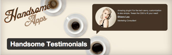 Handsome Testimonials, one of the best WordPress Testimonials Plugins out there