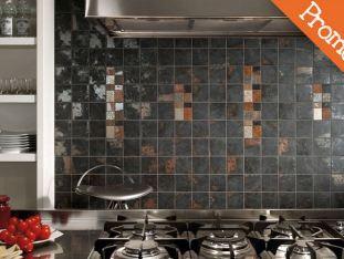 Piastrella Rivestimento Cucina Design Lamiera 01
