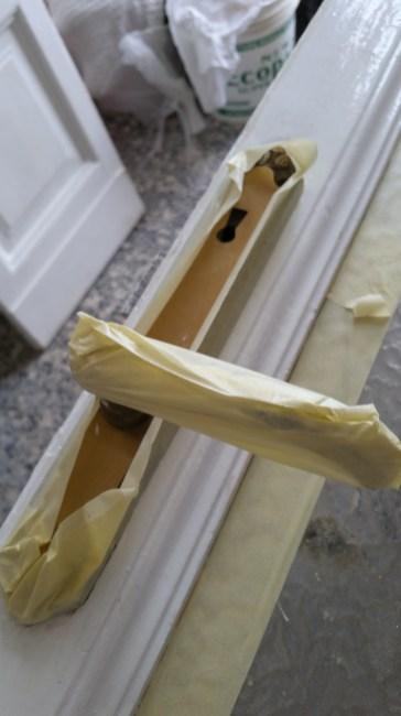 verniciatura porte E Stipiti in legno 07 ristrutturazionmilano.com