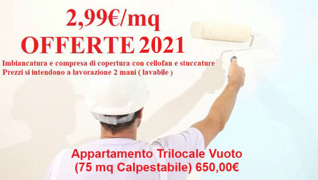 offerta-imbiancatura-appartamento-trilocale 2021