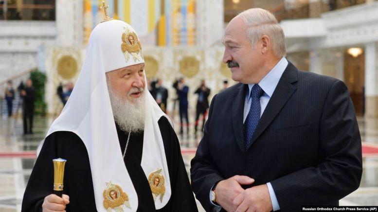 Патріарх Кирил і Лукашенко (архівне фото) - фото 63172