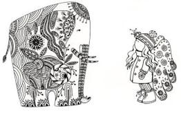 10.Дудлинг картинки: интересные рисунки дудлинг