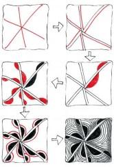 15.Дудлинг узоры: интересные узоры в технике дудлинг