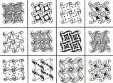 08.Дудлинг узоры: интересные узоры в технике дудлинг