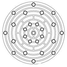 18.мандалы для раскрашивания распечатать