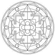 03.мандалы для раскрашивания распечатать