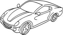 05.Машинки раскраски для мальчиков распечатать