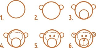 10.Поэтапное рисование для детей простые поэтапные рисунки