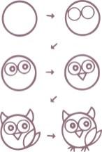 12.Поэтапное рисование для детей простые поэтапные рисунки