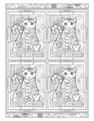 05.Раскраски антистресс животные