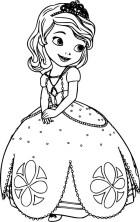 08.Раскраски для девочек распечатать