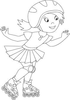 03.Раскраски для девочек распечатать бесплатно формат а4