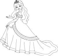 14.Раскраски для девочек распечатать бесплатно принцессы