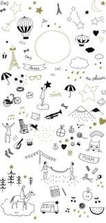 13.Срисовки для лд: картинки для личного дневника