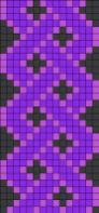 02.Как нарисовать косичку по клеточкам