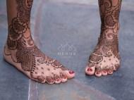 06.мехенди на ноге