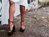 03.мехенди на ноге фото