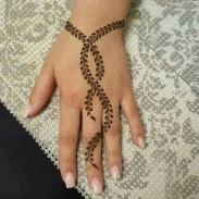 04.мехенди на руке для начинающих