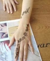 09.мехенди на руке лёгкие рисунки для начинающих