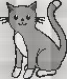 15.рисунки по клеточкам котики