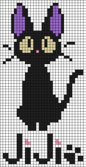 24.рисунки по клеточкам котики