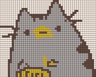 28.рисунки по клеточкам котики