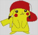 31.рисунки по клеточкам покемоны