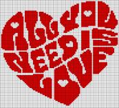 24.рисунки по клеточкам сердечки