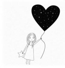 12.срисовки для девочек лёгкие