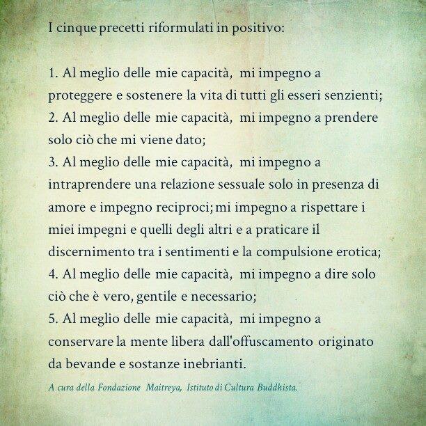 Cinque Precetti