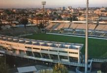 Una veduta dello stadio Benelli di Ravenna