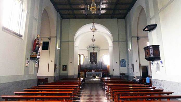 San Biagio, interno della chiesa