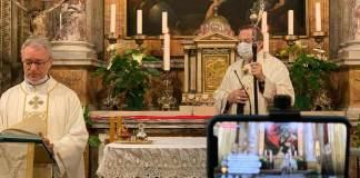 L'Arcivescovo Lorenzo alla Messa di Pasqua in Cattedrale