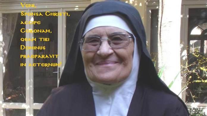 Suor Maddalena de Sacro Cuore di Gesù