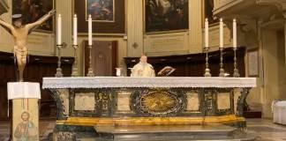 La Messa in Cattedrale di questa mattina
