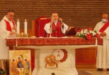 La Messa di Pentecoste a San Pier Damiano