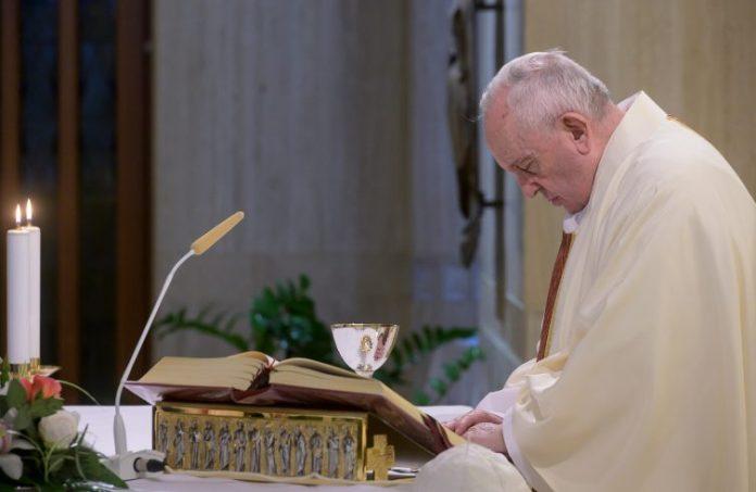 Papa Francesco (Foto Vatican Media/SIR)