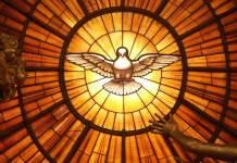 Una delle rappresentazioni più famose dello Spirito Santo, nella Basilica di San Pietro