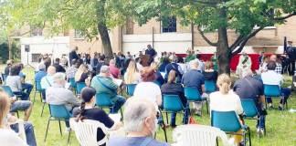 La Messa in ricordo di Sellitto a San Vittore