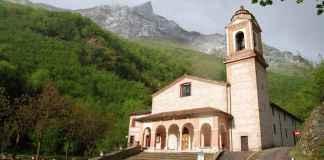Il santuario della Madonna dell'Ambro a Montefortino