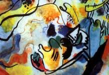 Wassily Kandiski (1912) Il giudizio finale (particolare) Parigi, Centre Georges Pompidou, olio su tela