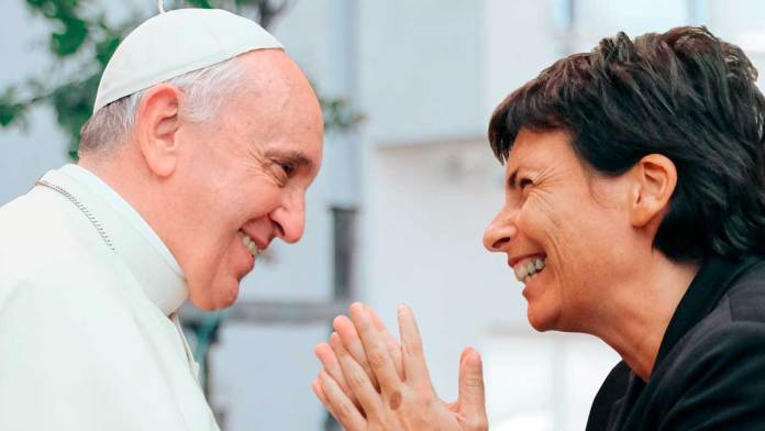 Papa Francesco e Chiara Amirante
