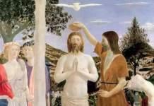 Il Battesimo di Cristo, di Piero della Francesca