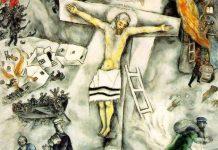 Marc Chagall (1938) La crocifissione bianca, The Art Institute di Chicago