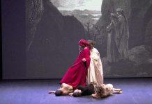 """Una scena di """"Dante per nostra fortuna"""""""