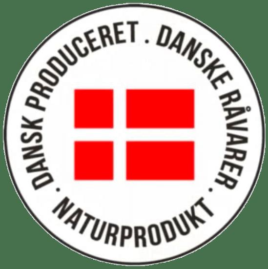 Dansk produceret logo