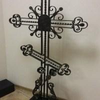 Кованый крест №5